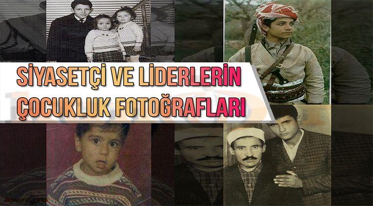 Siyasetçi ve Liderlerin Çocukluk Fotoğrafları