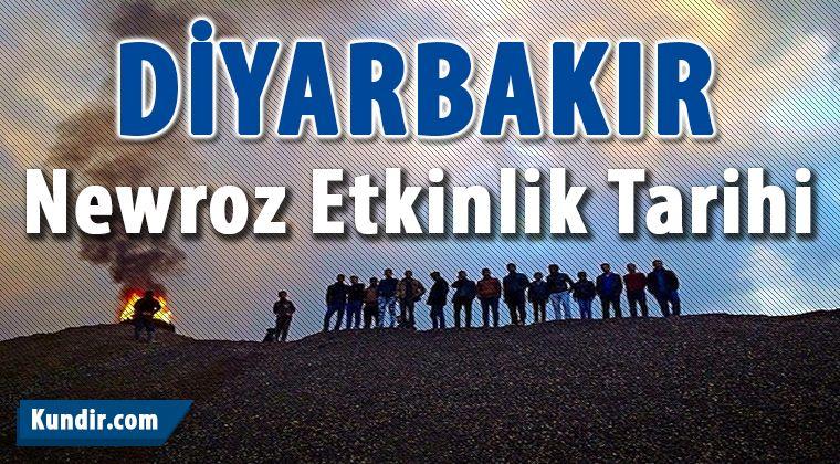 Diyarbakır Newroz Etkinlik Tarihleri