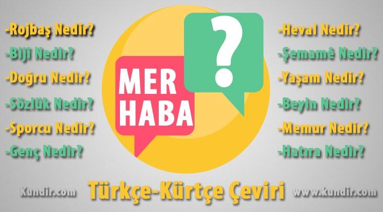 Kürtçe karşılama cümleleleri