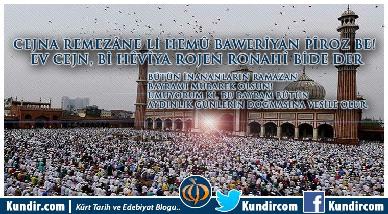 kürtçe ramazan bayramı mesajları