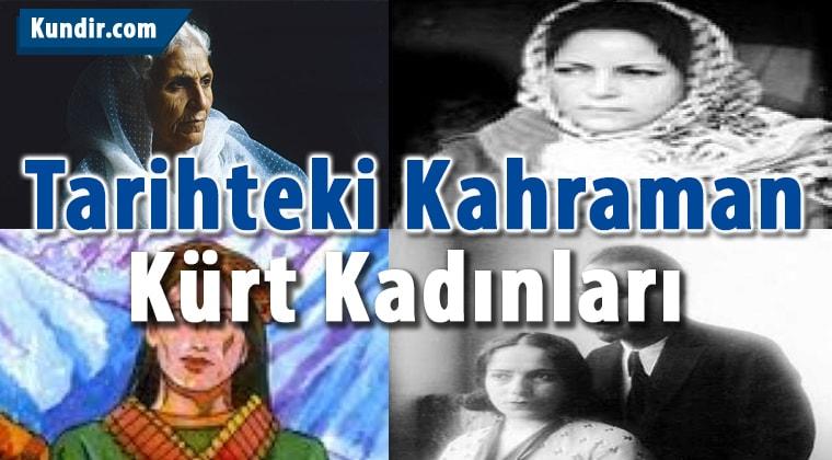 Tarihteki Kahraman Kürt Kadınları