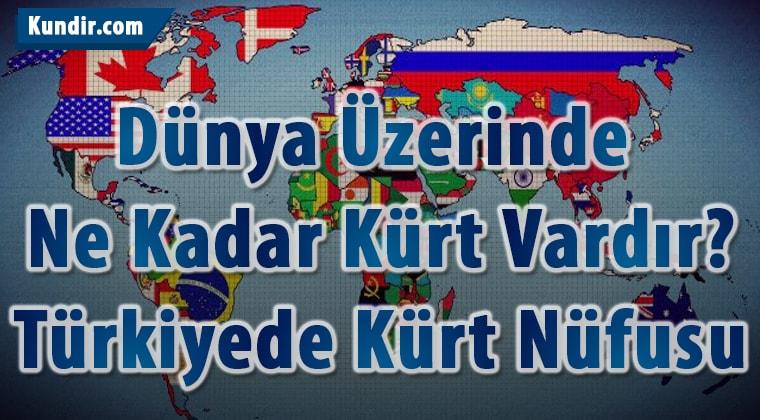 Türkiyede Kürt Nüfusu