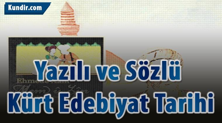 Sözlü Kürt Edebiyat Tarihi