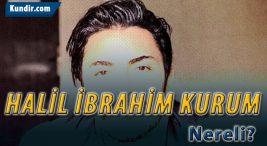 Halil İbrahim Kurum Kimdir