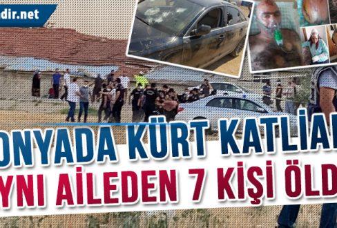 Konyada Kürt Katliamı