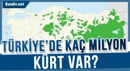 Türkiyedeki Kürtlerin Sayısı